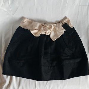 Oversized Bow Front Ted Baker Bubble Mini Skirt